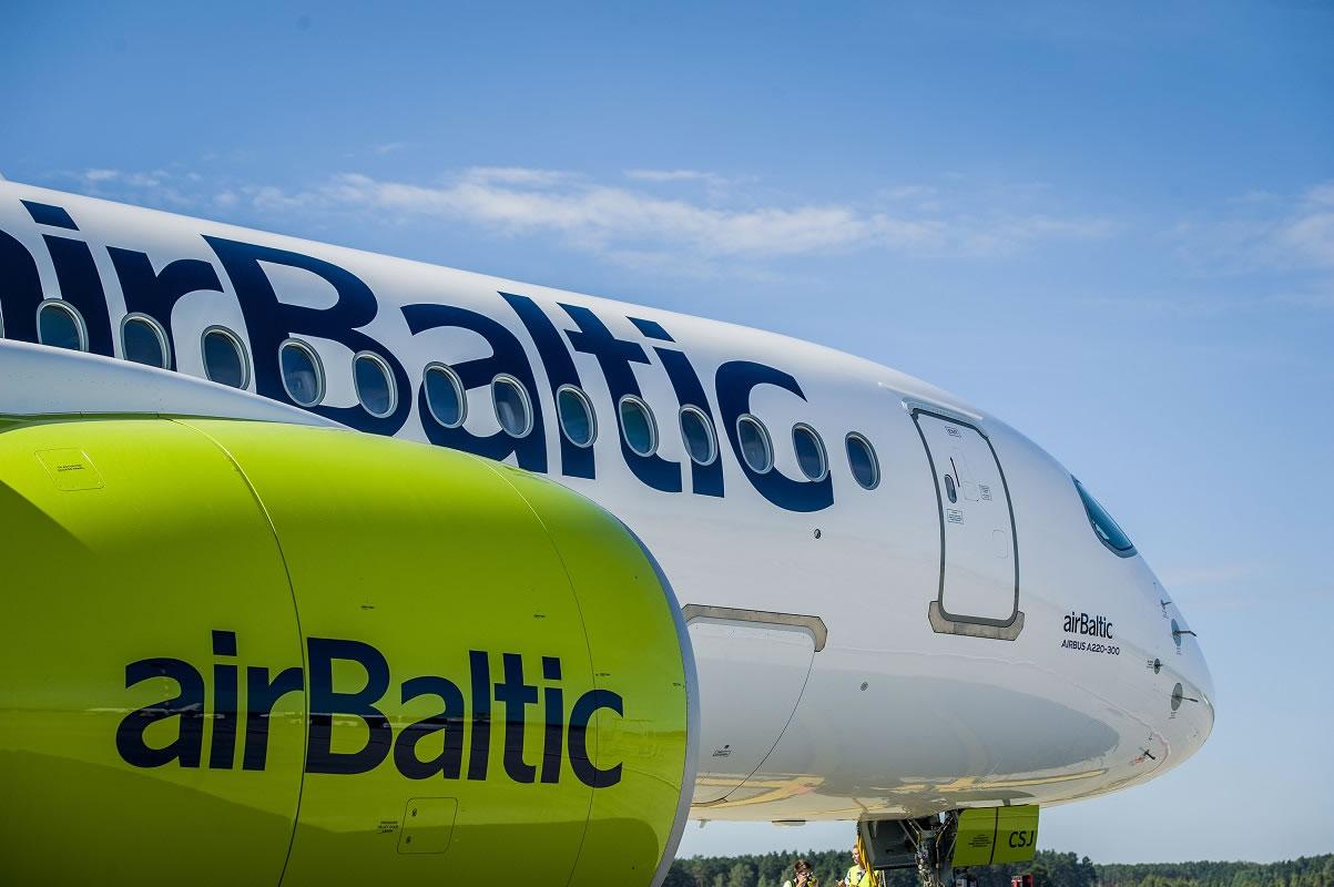 airBaltic начинает полеты из Львова в Ригу