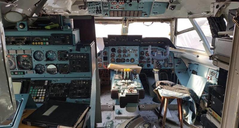 «Призрачный самолет» с одесской таможни хотят продать за 6,8 миллиона долларов
