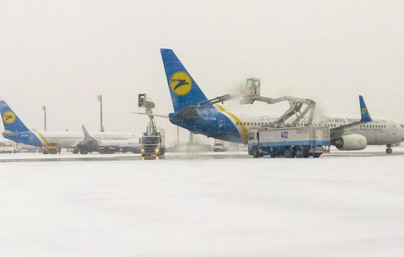 Аэропорт  Борисполь купил снегоочистителей на 5 млн евро