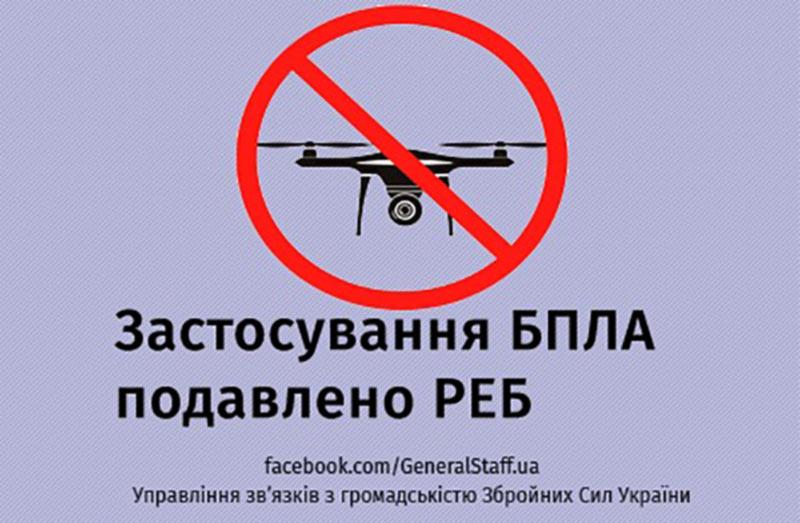 Все беспилотники над военными объектами будут сбиты