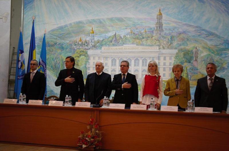 В НАУ прошла Всеукраинская конференция «Аэро-2018. Воздушное и космическое право»