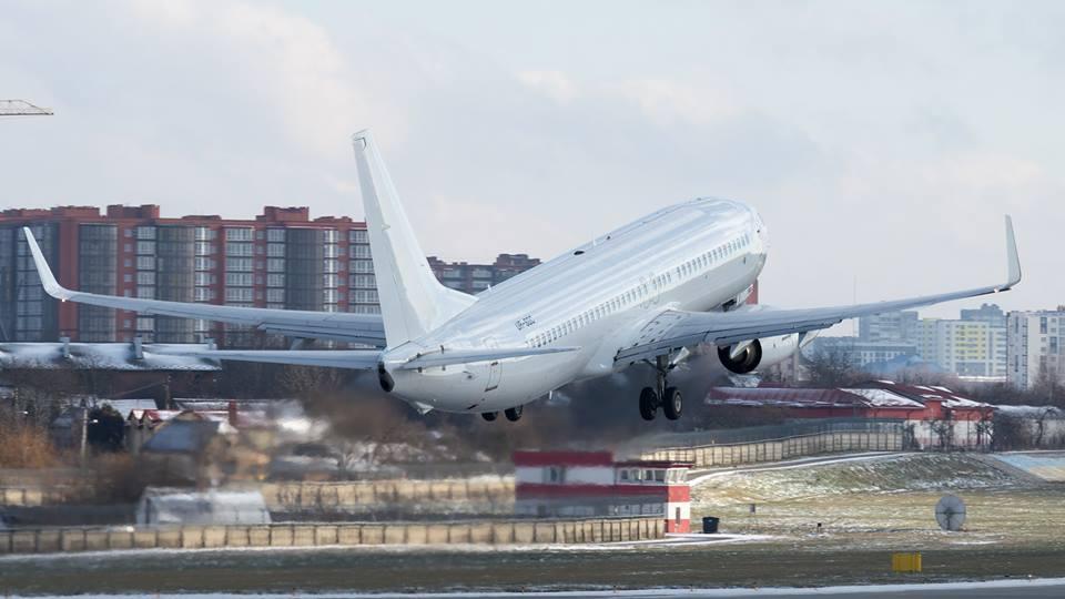 Новый самолет SkyUp уже выполняет полеты