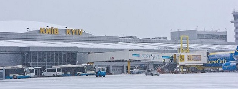 Непогода в Киеве. Аэропорты работают практически без сбоев