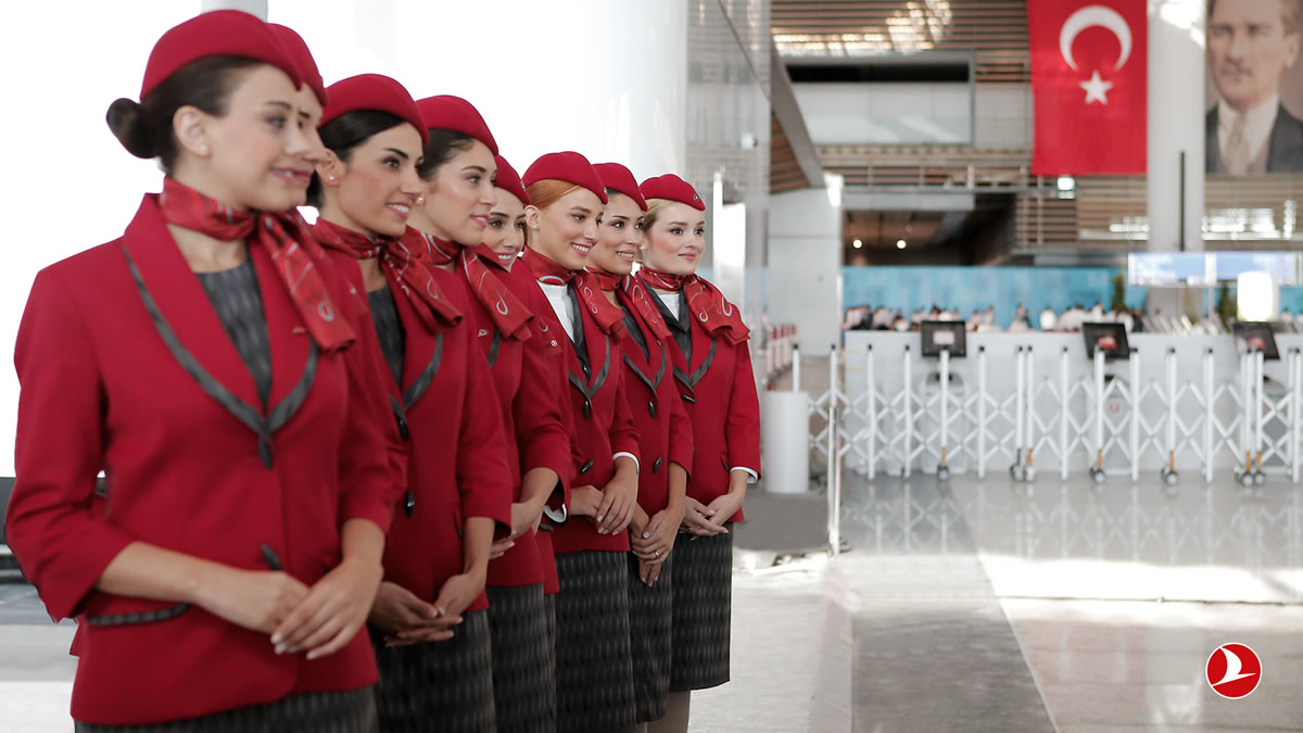 Turkish Airlines начинает путешествие из нового аэропорта Стамбула
