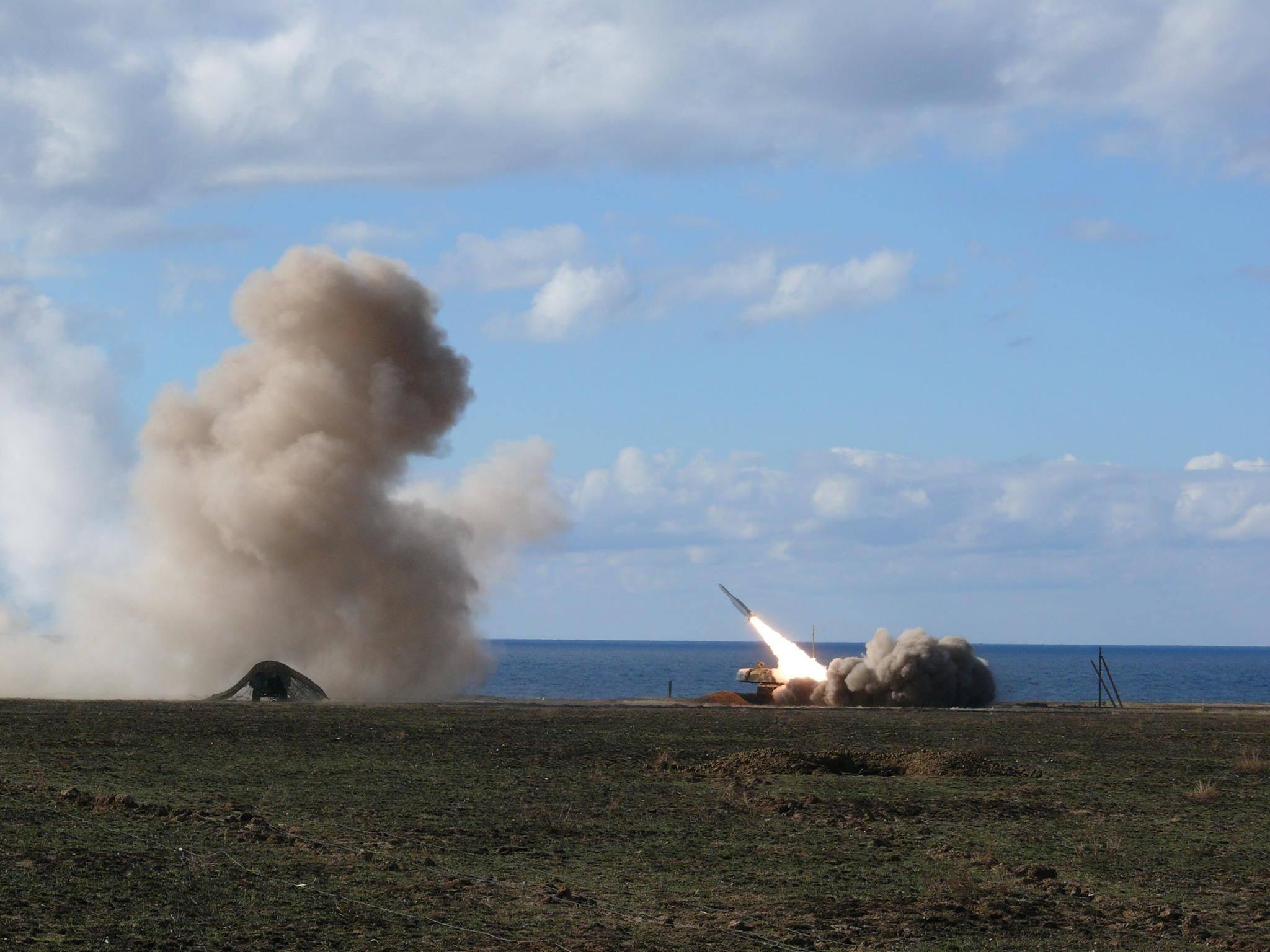 В Херсонской области успешно завершены боевые стрельбы зенитных ракетных подразделений