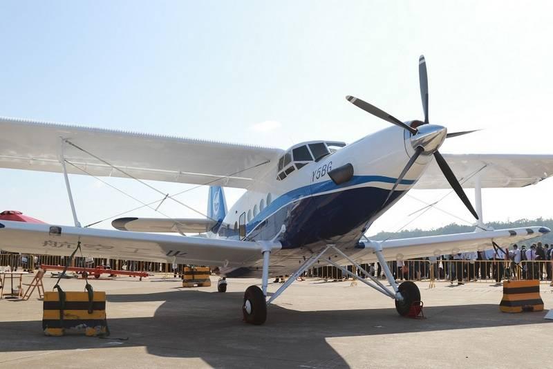 Китай представил новую версию копии Ан-2