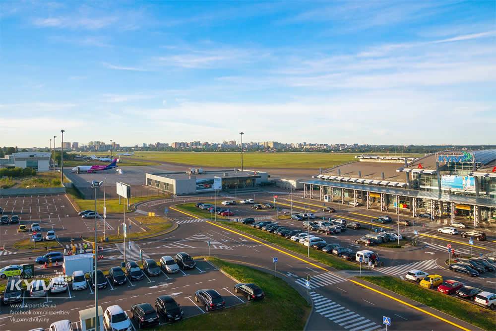 Аэропорт Киев увеличил пассажиропоток в октябре наполовину
