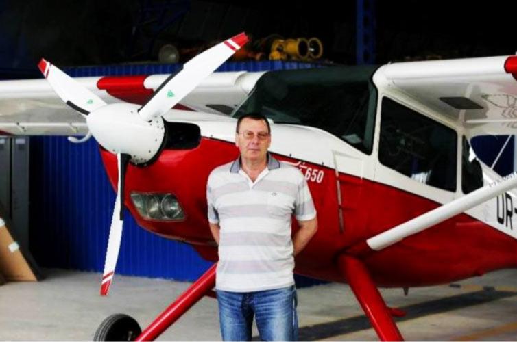 Запорожье удивляющее: неподалеку от поселка Веселого собирают... самолеты