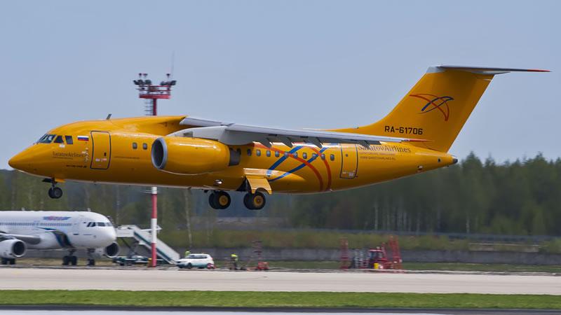 «Саратовские авиалинии» вернули еще один Ан-148