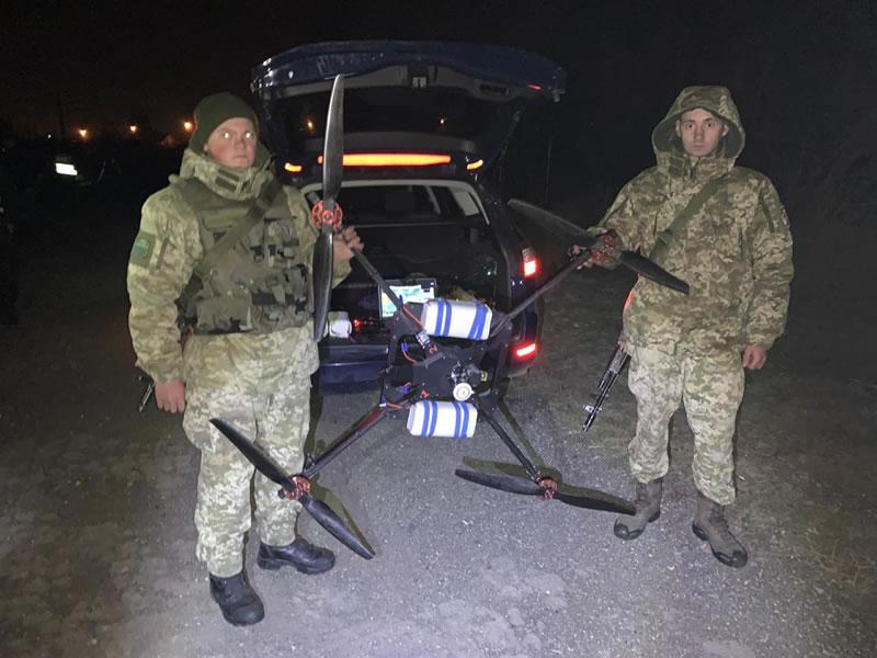 На Закарпатье задержали контрабандиста с беспилотником