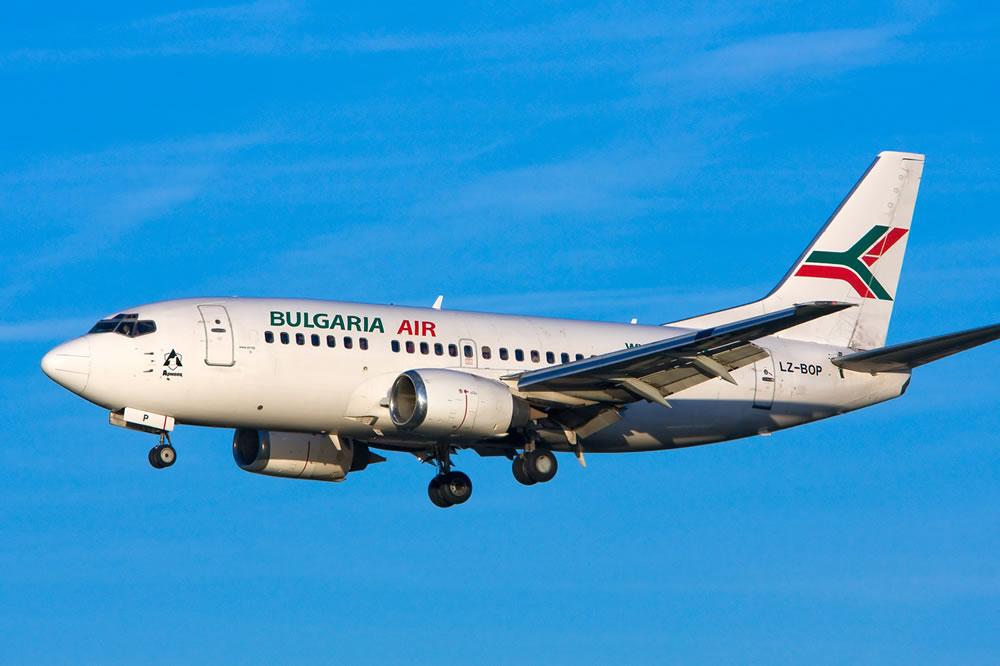 Bulgaria Air приостановила рейсы в Одессу