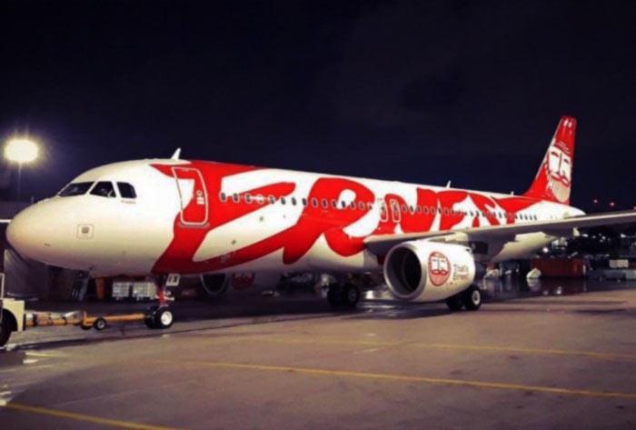 Новый самолет Ernest Airlines уже в фирменной ливрее