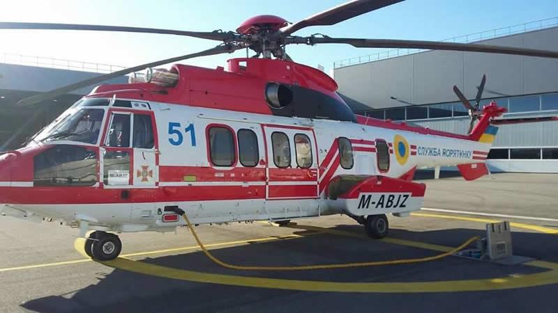 Французские H225 готовятся к передаче Украине