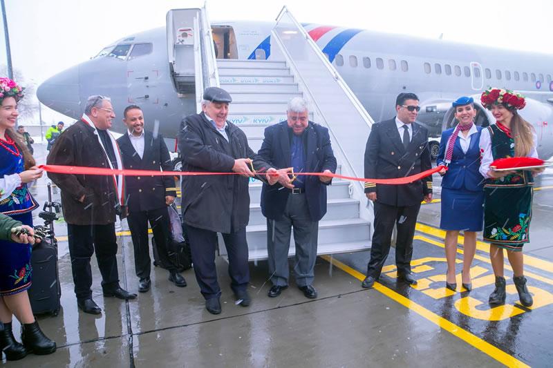 Первый рейс из Аммана приземлился в Жулянах