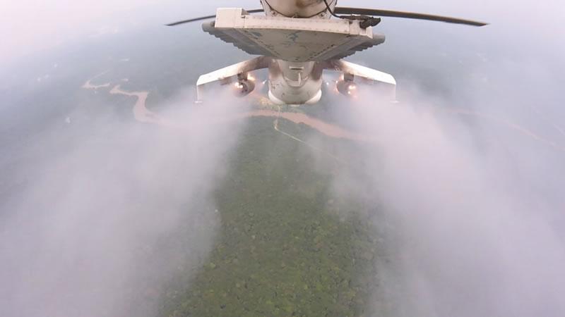 Украинские вертолетчики разгромили в Конго отряд боевиков