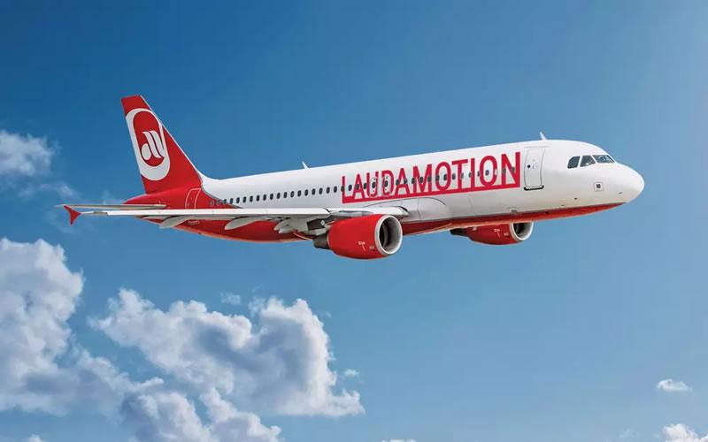 Лоукост Laudamotion открывает рейс Киев — Вена