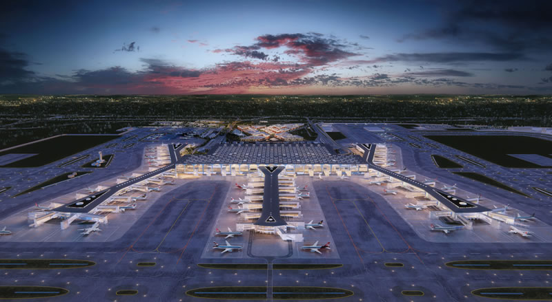 Переезд в Новый аэропорт Стамбула отложен до марта 2019 года