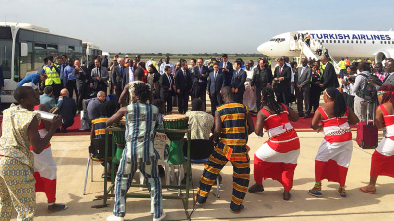 Столица Гамбии Банжул стала 305-ым направлением Turkish Airlines