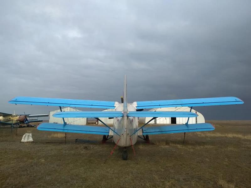 Военное положение приковало к земле самолеты малой авиации