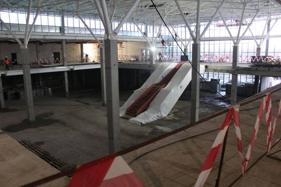 Что сделано за год на строительстве терминала в Запорожье