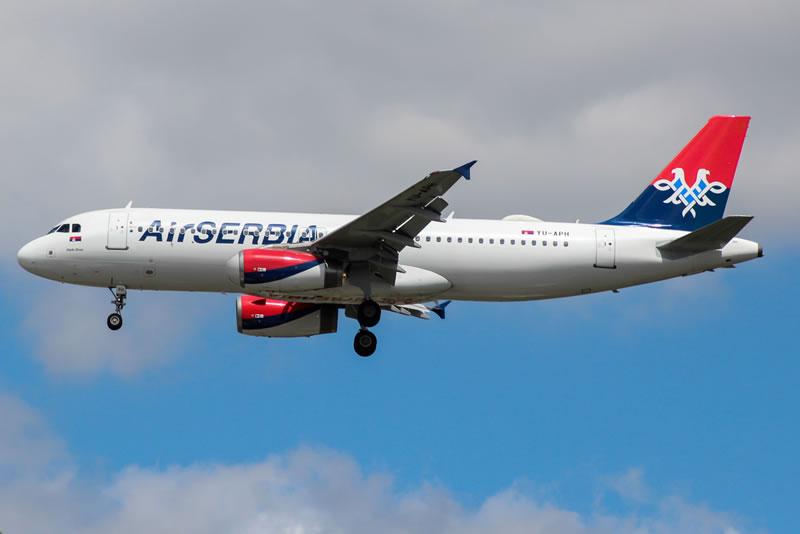Air Serbia будет летать в Киев