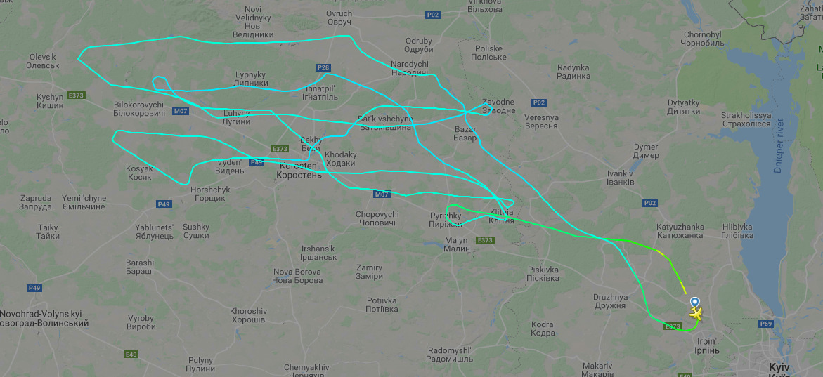 Самолет Ан-132D выполнил очередной испытательный полет