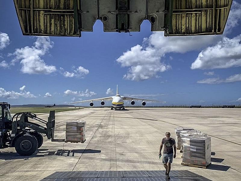 «Авиалинии Антонова» выполнили 23 полета в помощь жертвам тайфуна