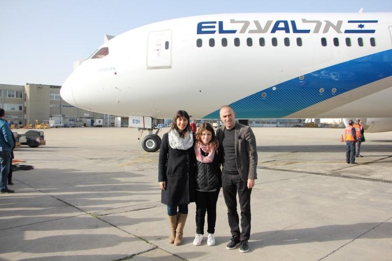 Авиакомпания EL AL пополнила флот восьмым Boeing Dreamliner