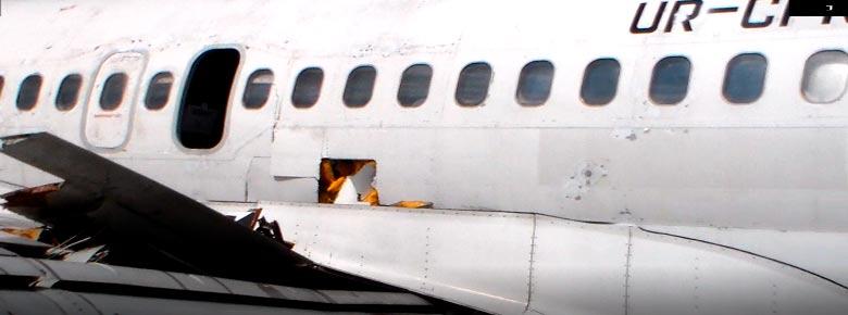 Украинская авиакомпания получила $ 1 млн страховых выплат