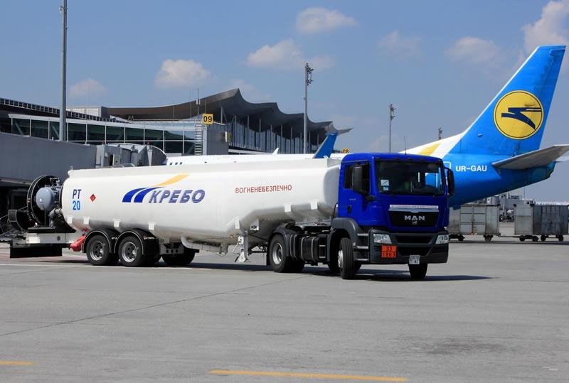 Информация МАУ о сбое заправок топливом в аэропорту «Борисполь»