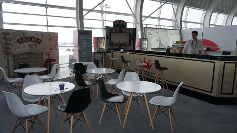 В аэропорт «Львов» открыто новое кафе в зоне ожидания международных рейсов