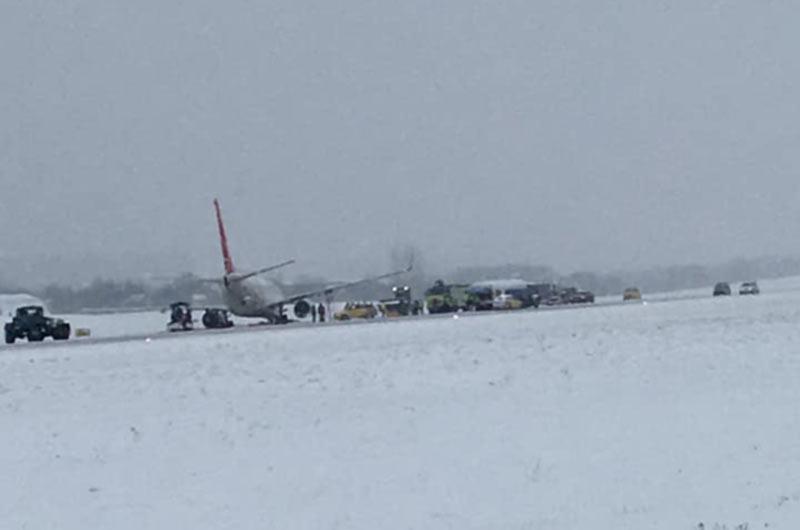 В аэропорту Львов задерживают и переносят рейсы