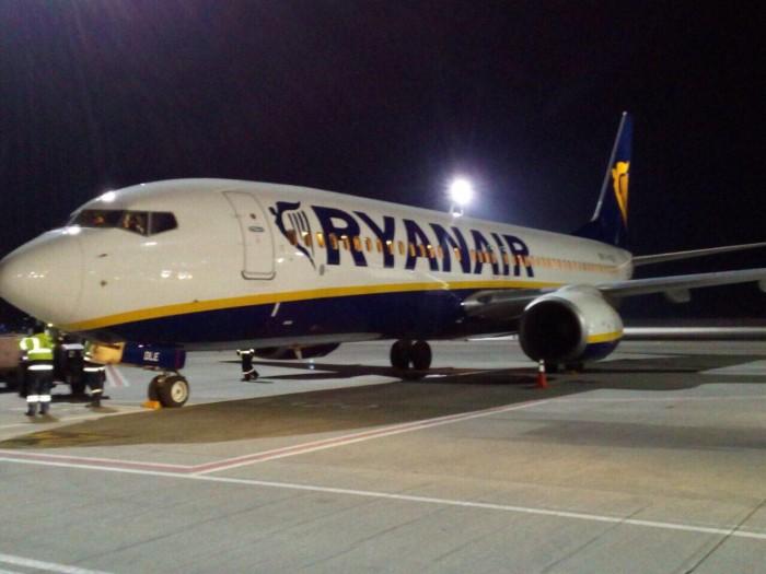 Ryanair открывает 4 новых рейса из Киева