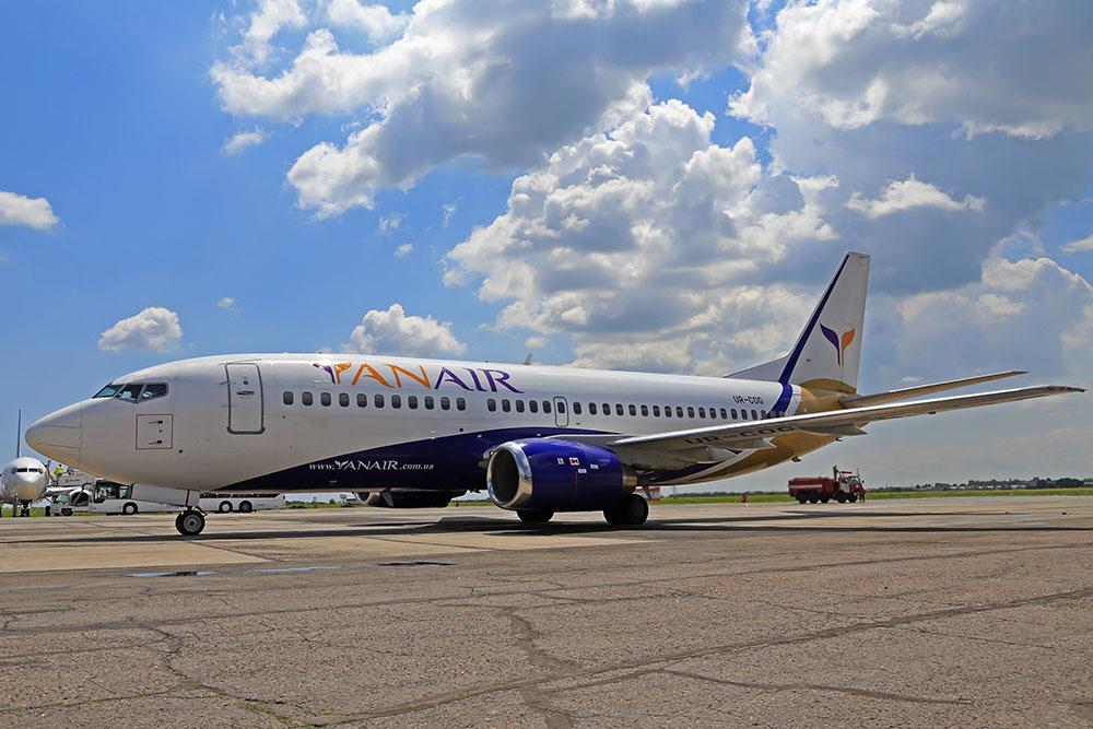 Авиакомпания «ЯнЭйр» с июня начнет летать из Одессы в Батуми