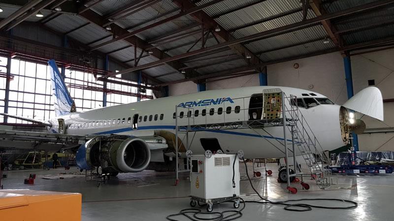 «Завод 410 ГА» осваивает ремонт Boeing-737