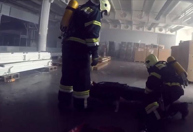 В «Борисполе» провели учения аварийно-спасательной службы