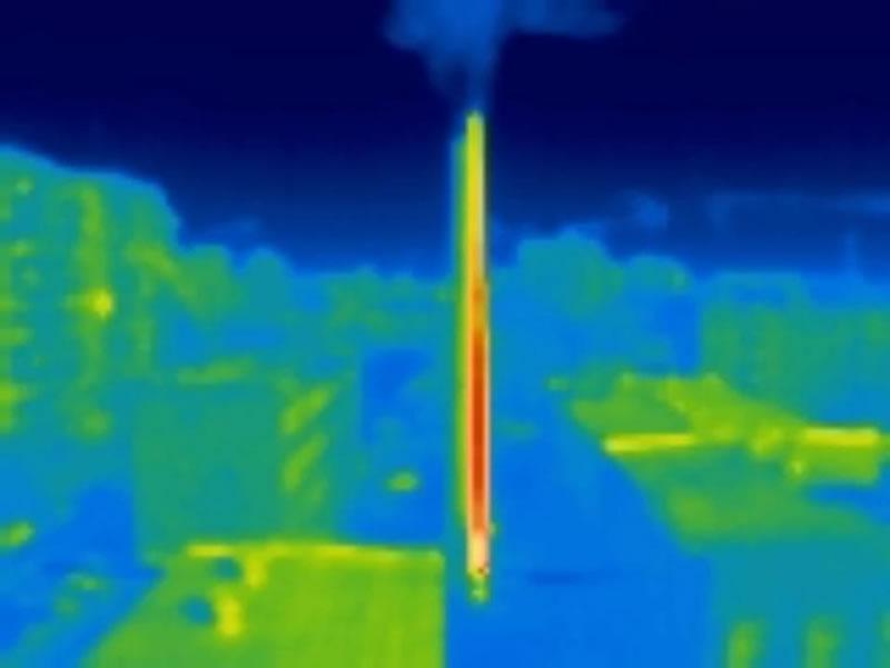 В Черкассах порывы теплотрасс будут искать с неба