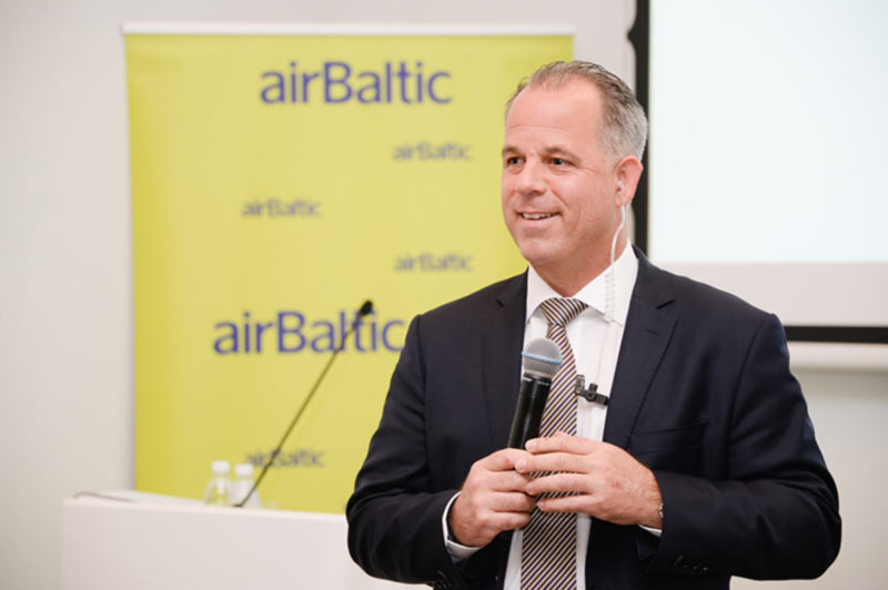 Глава AirBaltic: Рост конкуренции авиакомпаний на руку путешественникам