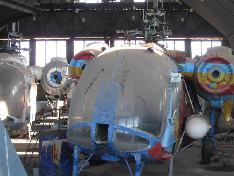 У херсонской авиакомпании описали вертолеты