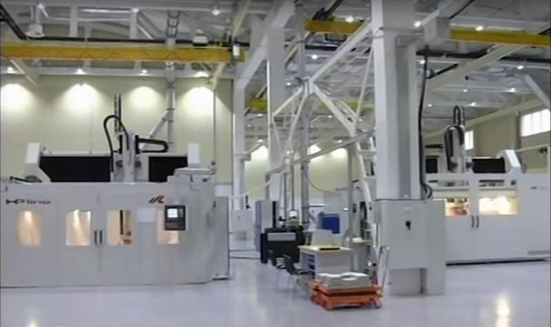 Мотор Сич производит композитные детали для вертолетов
