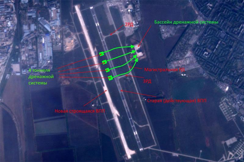 Выяснилась загадка строительства ВПП в Одессе