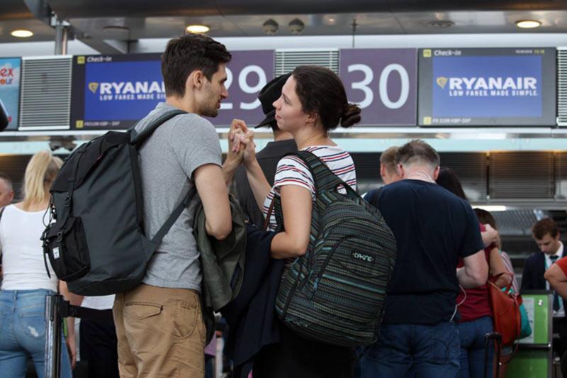 Распродажа билетов в Европу от Ryanair