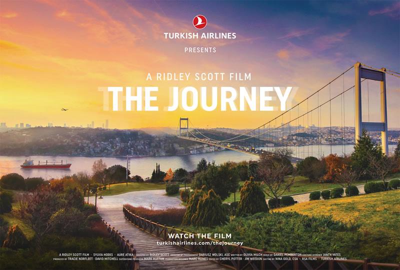 Путешествие с авиакомпанией Turkish Airlines начинается с фильма Ридли Скотта