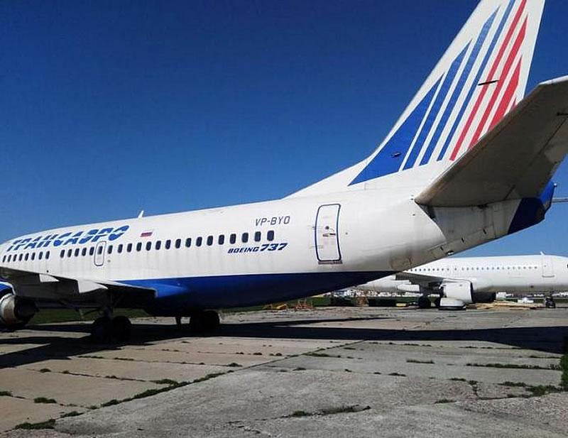 Арестованный Boeing «Трансаэро» продали на торгах