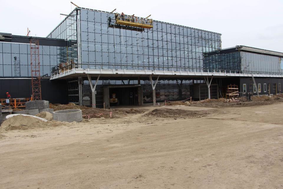 В аэропорту Запорожье продолжаются работы
