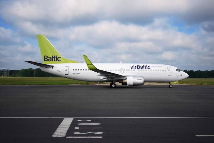 airBaltic снова будет летать в Одессу