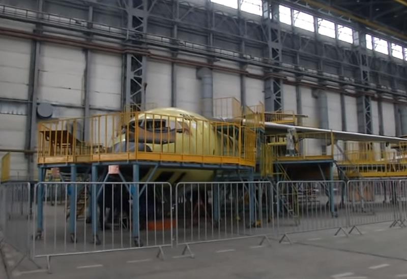 ГП «Антонов» собирает пять новых транспортных самолетов Ан-178
