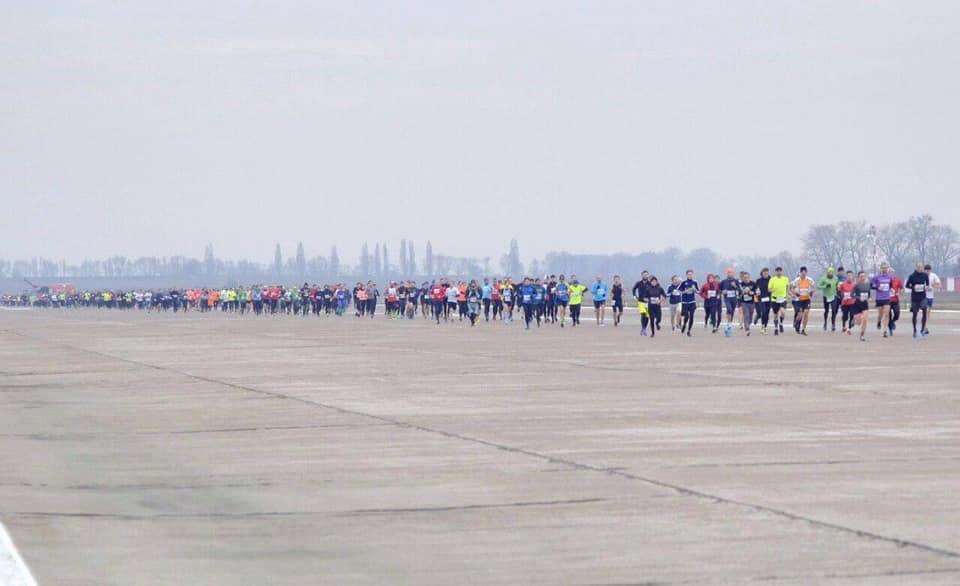"""Открытие терминала F аэропорта """"Борисполь"""" отметили масштабным забегом"""