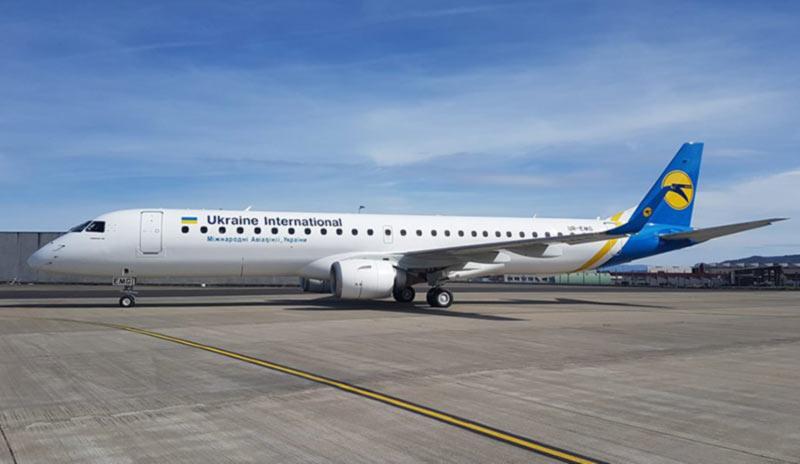 МАУ получила первый Embraer 195