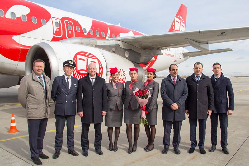 Авиакомпания Ernest выполнила первый рейс в Харьков